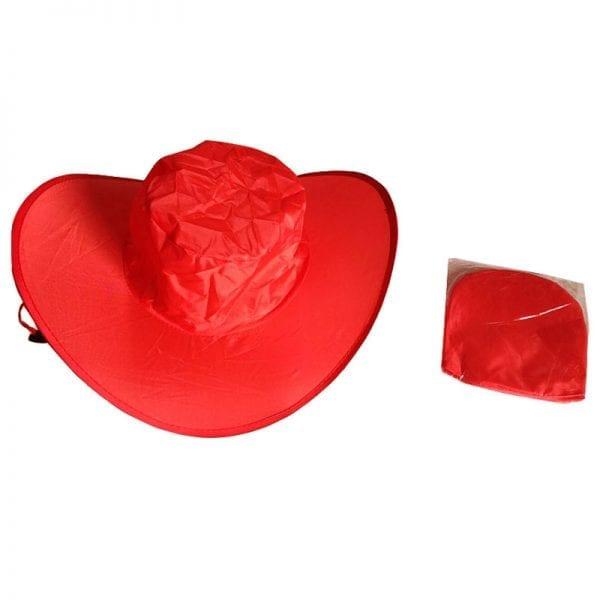 ノベルティ製造-オリジナル 折りたたみ帽子 製作