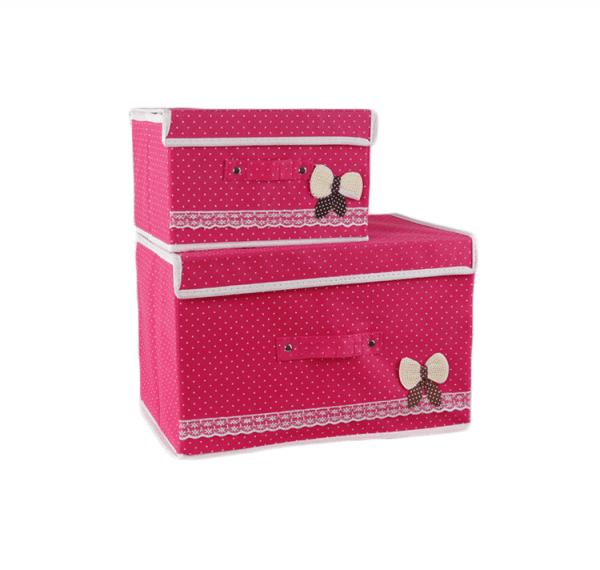 ノベルティ製造-オリジナル 雑物収納ボックス 製作