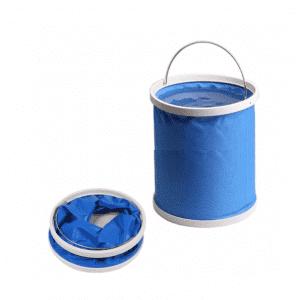 ノベルティ製造-オリジナル折りたたみバケツ 製作