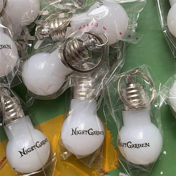 電球型LEDライトキーホルダーオリジナル製作