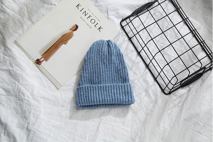 ニット帽子製作