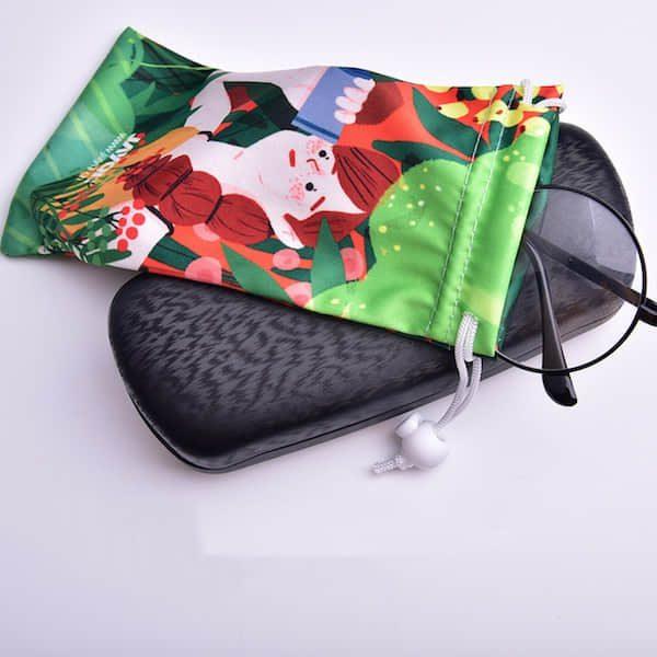 巾着ポーチ・メガネポーチオリジナル製作のご案内です。