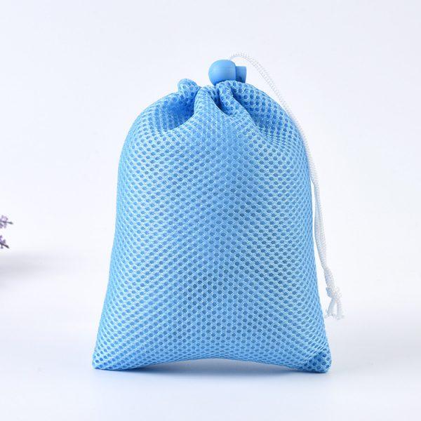 「厚手メッシュ素材」巾着袋・ナップサック