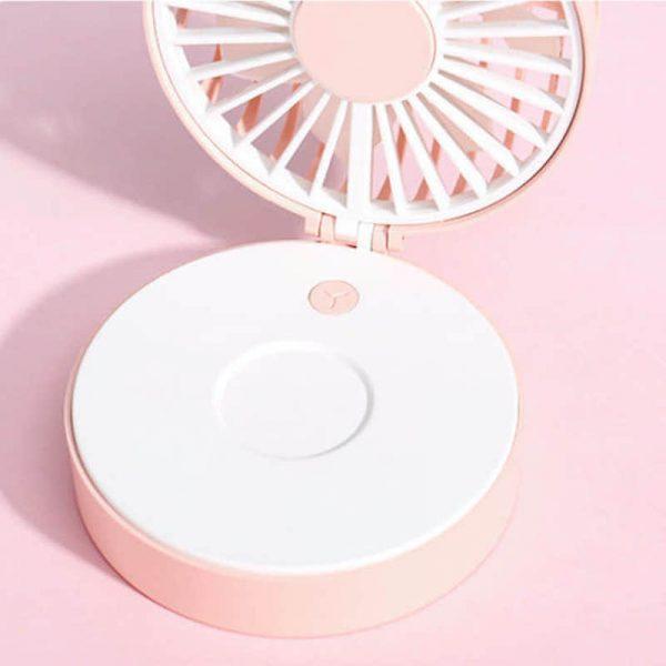 熱中症対策グッズ!首掛けミニファン・携帯扇風機オリジナル名入れ印刷・製作!