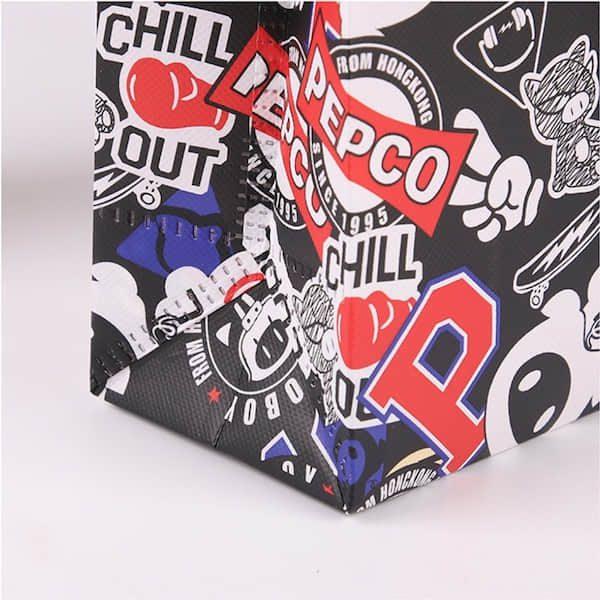 ショッピングバッグの名入れ印刷・オリジナル製作のご案内です。