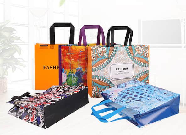 各種不織布ショッピングバッグオリジナル製作