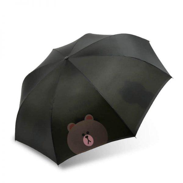 自分も、他人も濡らさない!逆さ傘をオリジナル名入れ印刷・製作します。