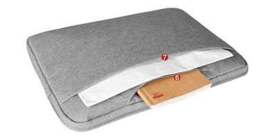 PC・IPADバッグをオリジナ名入れ・製作