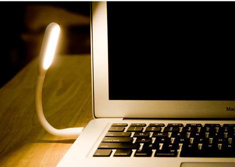 折り曲げ・ミニ型USBライトオリジナル製作