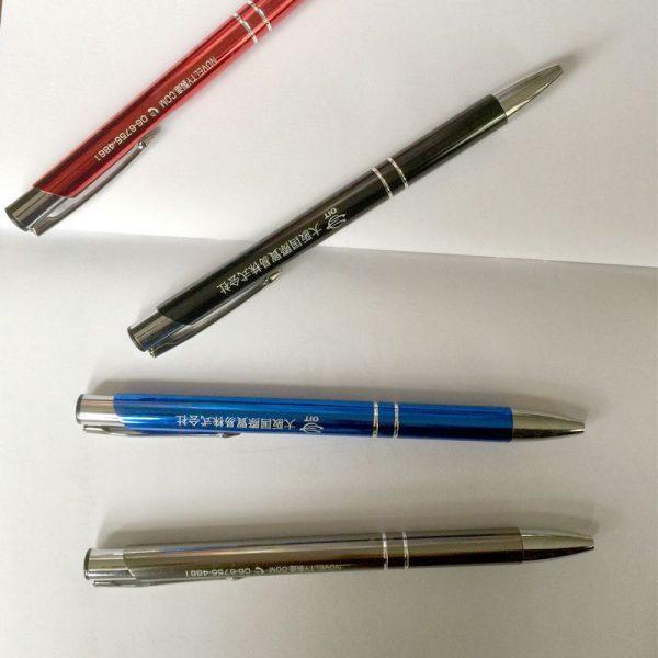 金属製ボールペンをオリジナル制作、名入れ印刷のご案内です。