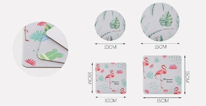 オリジナル紙製コースター製作