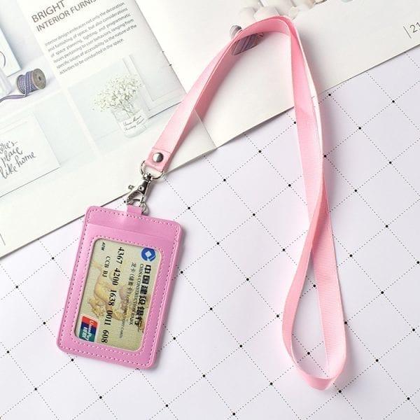 ネックストラップ付きのIDカードケース ホルダーのオリジナル制作、単色やフルカラーの印刷・名入れのご案内です。