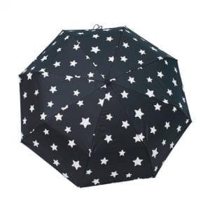 濡れると色が変わる折りたたみ傘をオリジナル製作、名入れのご案内です。