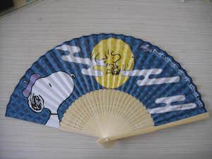 竹色オリジナル紙扇子
