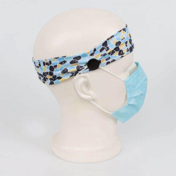 マスク掛けヘアバンドオリジナル印刷・製作のご案内です。