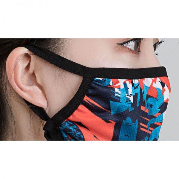 熱中症対策!接触冷感生地マスクのオリジナル名入れ印刷・製作のご案内です。